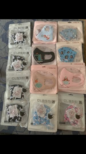 Face mask for kids for Sale in Los Angeles, CA