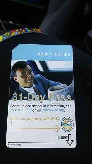 31 day pass buspass highdesert for Sale in Fontana, CA