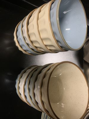 Set of 12 bowls farmhouse look for Sale in Bothell, WA