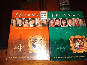 Friends season 4 and 6 for Sale in Greer, SC