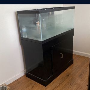 55gallon Fish Tank With Filter An More for Sale in Fresno, CA