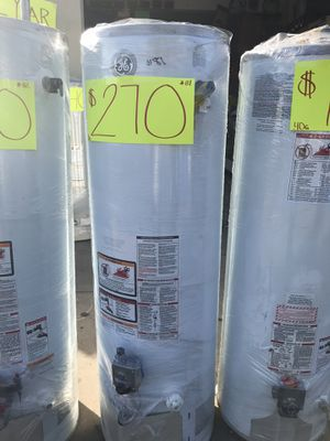 Water heaters ❗️ we are located at 2501 w. 54th St. LA 🛑 open 8:00-6:00 pm ❗️ Ask for Isabel for a 10% off 💯❗️ for Sale in View Park-Windsor Hills, CA