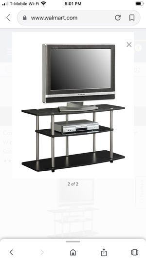 Convenience Concepts Designs2Go No Tools 3 Tier Wide TV Stand, for Sale in Tysons, VA
