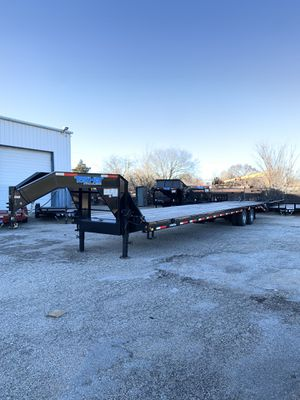 "102""x40' GOOSENECK TRAILER 12k TANDEM AXLE for Sale in Fort Worth, TX"