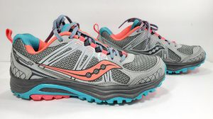 Saucony Excursion TR Womens Sz 6.5 US Gray Hiking Athletic Shoes for Sale in Modesto, CA