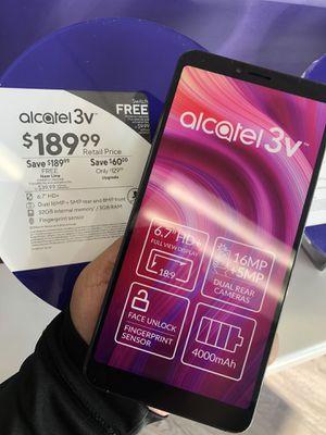 Free Alcatel 3V for Sale in Garland, TX