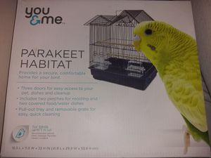 Bird (Parakeet) Cage/Jaula De Pajaros Australianos for Sale in Woodbridge, VA