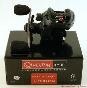 Quantum Smoke SL100 HPTA 7:3.1 GR Right Hand baitcaster fishing reel baitcast new in box for Sale in Litchfield Park, AZ