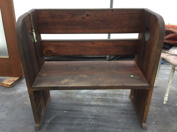 Pine Porch Bench