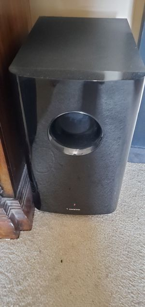 Onkyo 7.2 channel surround sound stereo system for Sale in Germantown, MD