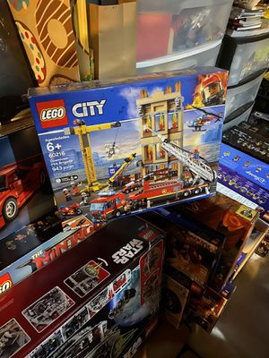 60216 LEGO downtown fire brigade for Sale in Elk River, MN