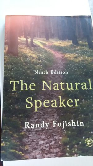 Ninth edition the natural speaker for Sale in Sacramento, CA