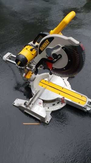 "Dewalt 12"" double bevel sliding compound miter saw for Sale in San Jose, CA"