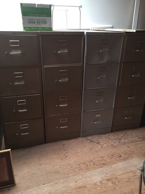 Legal sizes filing cabinets for Sale in San Diego, CA