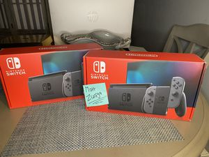 Nintendo Switch Console Grey Joy-Con 32 GB (Brand New) for Sale in Staten Island, NY