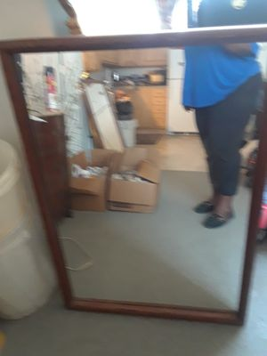 Wood Wall Mirror Older for Sale in St. Louis, MO