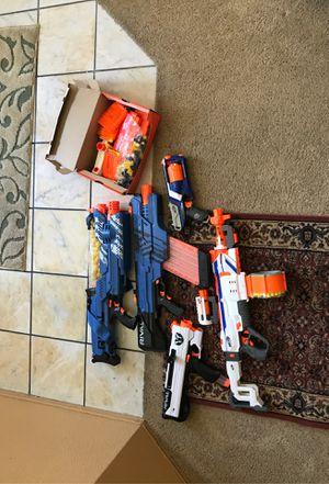 Nerf guns, rival khakis, rival nemesis, and nerf modulator for Sale in Elk Grove, CA