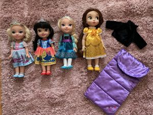 Disney little princess dolls for Sale in Las Vegas, NV