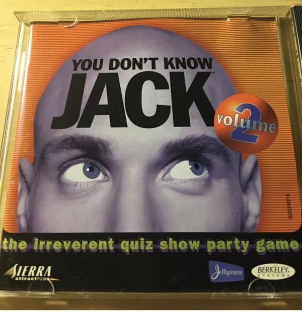 You Don't Know Jack cd trivia game for pc