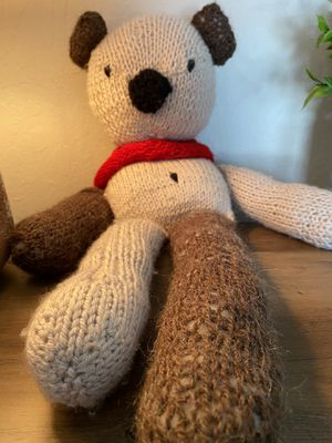 Knit Teddy Bear for Sale in Orangevale, CA