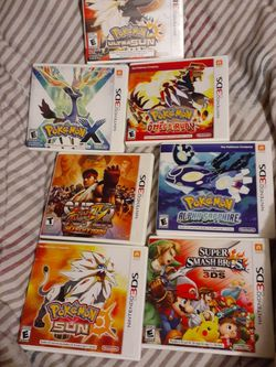 Nintendo 3DS XL games for Sale in Gardena,  CA