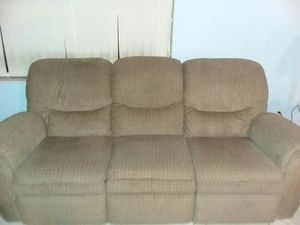 Double reclining sofa for Sale in Avon Park, FL