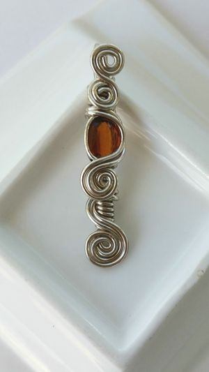 Hand made sterling silver wire wrap for Sale in Hilo, HI