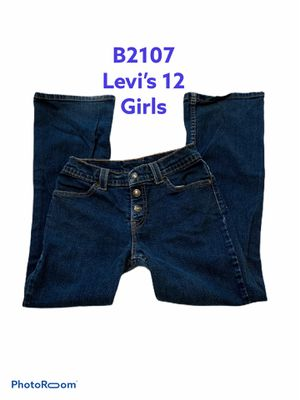 b2107 Levi's girls 12 blue jeans #txbunny1 for Sale in Victoria, TX
