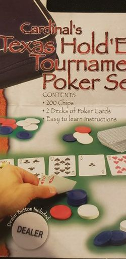 Texas Holden Tournament Poker Set for Sale in Federal Way,  WA