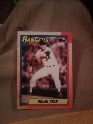 Nolan Ryan 1990 baseball card for Sale in Covina, CA