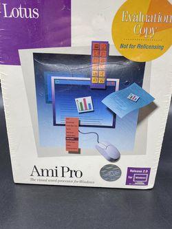 New Sealed Ami Pro Lotus Demo Evaluation Unit Windows PC Compatible Computers for Sale in Peoria,  IL