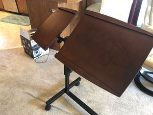 Adjustable Height Wooden Desk for Sale in Lynnwood, WA