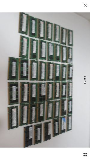Lot of 194pcs pc2 Mixed Brand memory's for Sale in Houston, TX