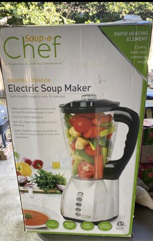 New soup a chef electric soup maker blender for Sale in Bedford, TX