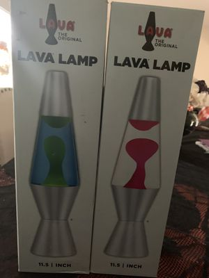 Lava lamps two for $10-pickup in Oviedo for Sale in Chuluota, FL