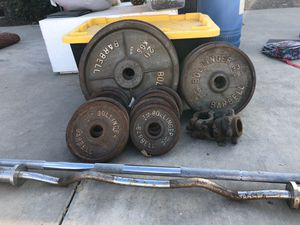 Weights for Sale in Tracy, CA
