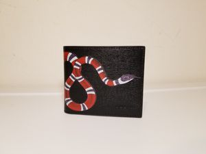 Gucci Snake Printed Black Leather Wallet for Sale in Queens, NY