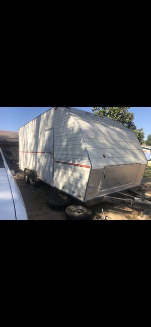 Enclosed car jeep dirtbike toy trailer for Sale in Norco, CA