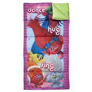 Dreamworks Kids Trolls Sleeping Bag, Purple for Sale in Rancho Cucamonga, CA