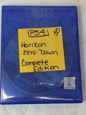 PS4 Horizon Zero Down Complete Edition (MXP013072) for Sale in Lakeland, FL