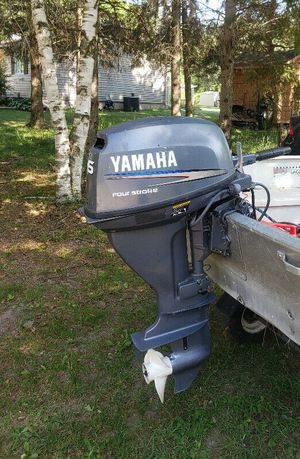 15 hp Yamaha outboard four stroke 2001 for Sale in Gig Harbor, WA