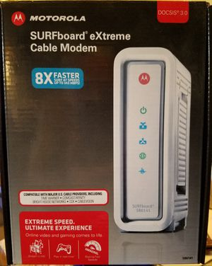 Motorola Surfboard cable modem for Sale in Spring Valley, CA