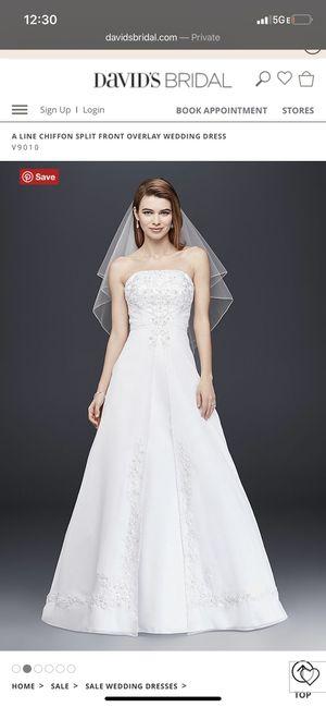 Wedding Dress / Davids Bridal for Sale in Philadelphia, PA