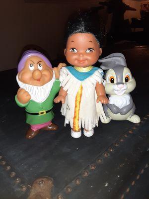 1988 Disney It's a Small World Native American Figure Doll. Mattel. for Sale in Cornelius, OR
