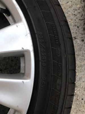 4 tires with rims for Sale in Lawrence, MA