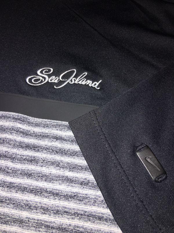 Nike 'Tiger Woods' Golf Shirt, Sea Island Golf Club, St. Simons Island, GA, New with Tag, Extra Large, $15