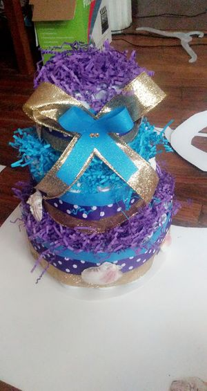 Baby diaper cake for Sale in Columbia, SC