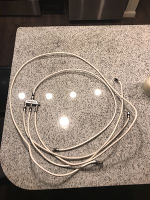Free Coaxial cable with 3 way splitter for Sale in St. Louis, MO