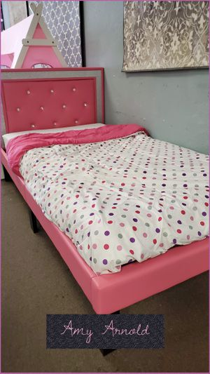 Twin Bedframe with Mattress for Sale in Glendale, AZ
