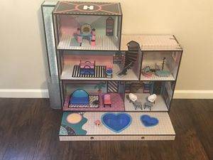 Lol doll house with furniture for Sale in North Las Vegas, NV